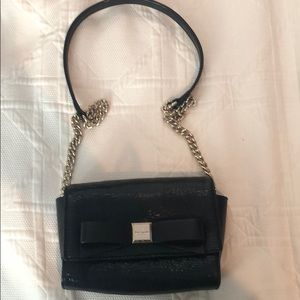 Kate Spade Purse with Bow and Gold Chain - New